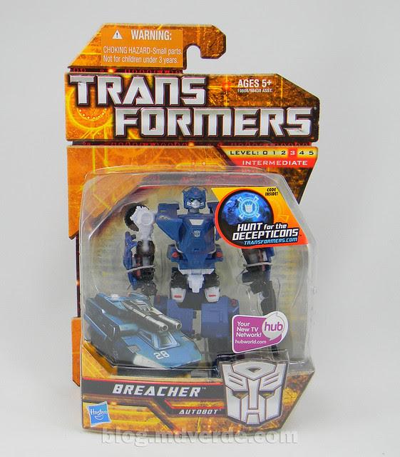 Transformers Breacher HftD Scout - caja