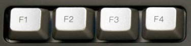 Additional information to what the F1 through F12 keys on a keyboard are.