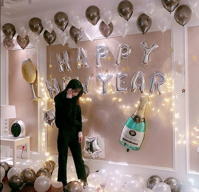TRY THIS! PERFECT HOME DECOR FOR NEW YEAR PARTIES