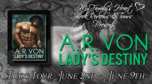 Lady's Destiny - Tour Banner