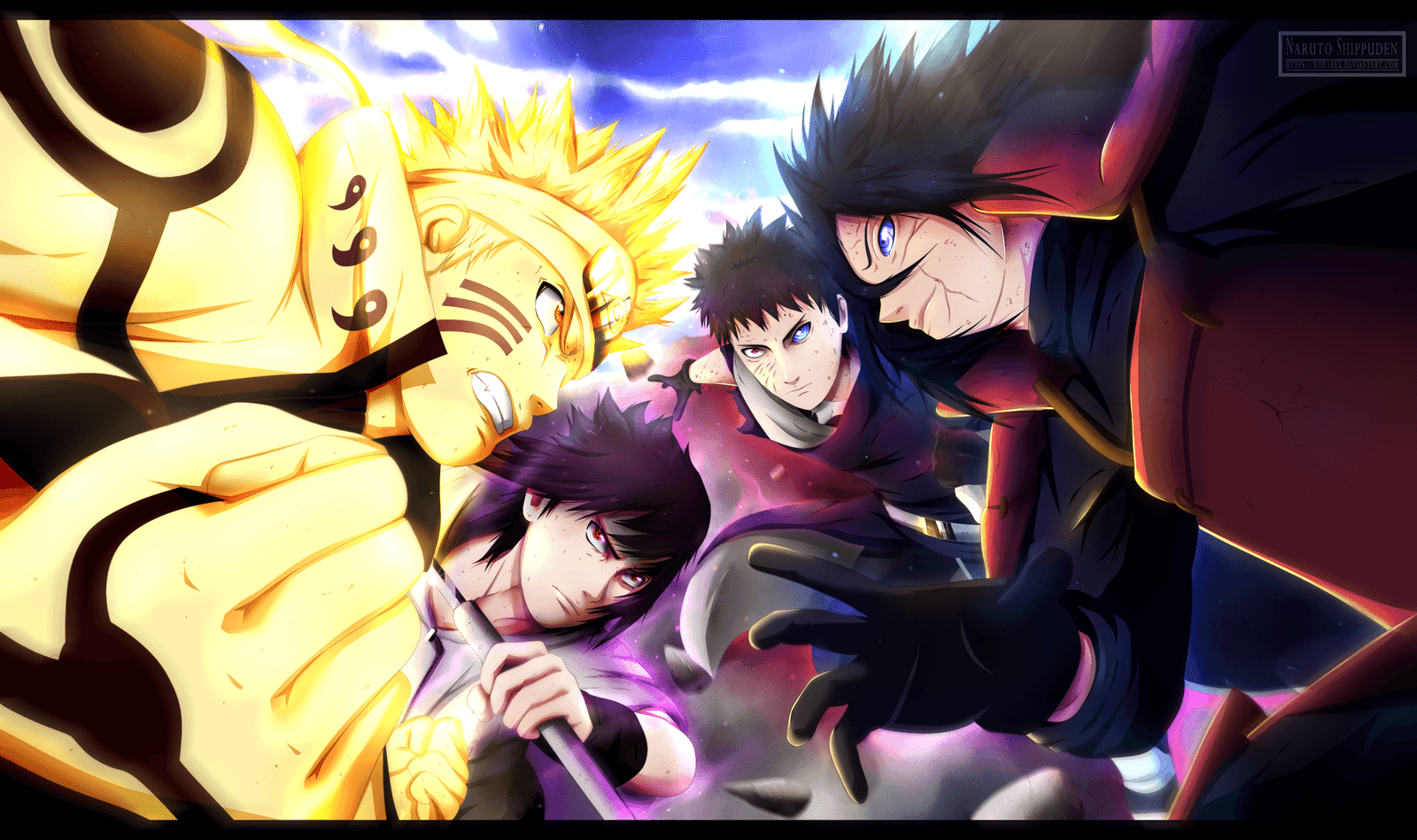 Naruto And Sasuke Vs Madara Wallpapers Wallpaper Cave