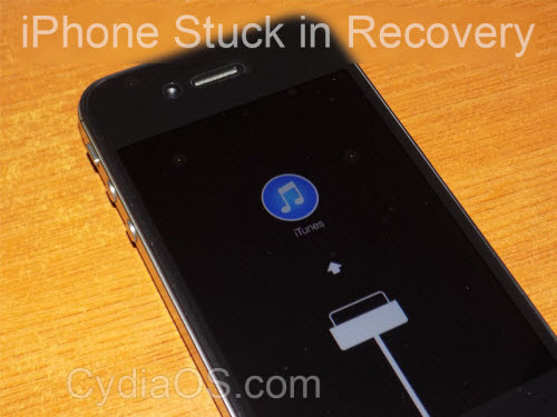 Restore iPhone Lost Data from Recovery Mode