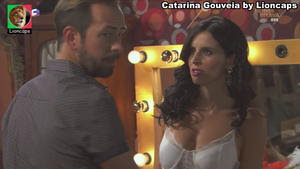 Catarina Gouveia sensual na novela Terra Brava