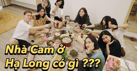 Nhà Cam ở Hạ Long có gì , chơi ma sói cùng các em nhân viên | Gia Đình Cam Cam Vlog 80