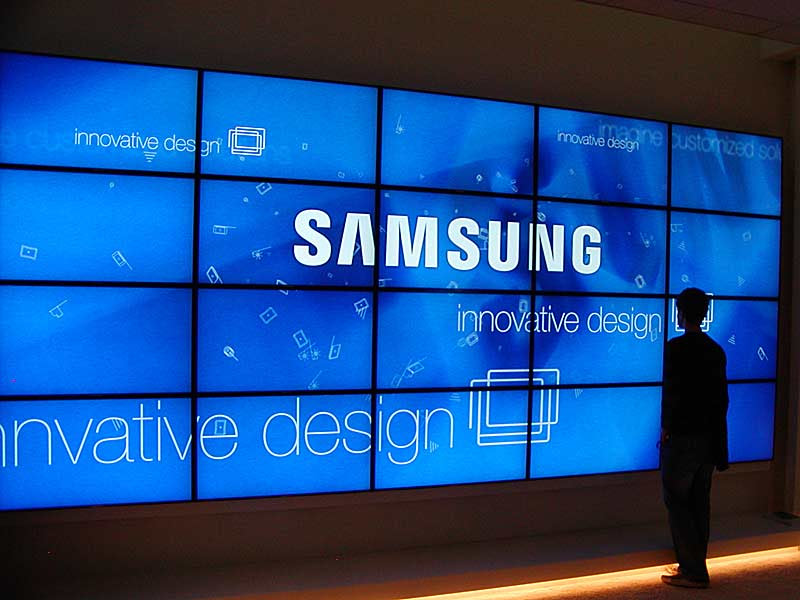 Image result for samsung signage display