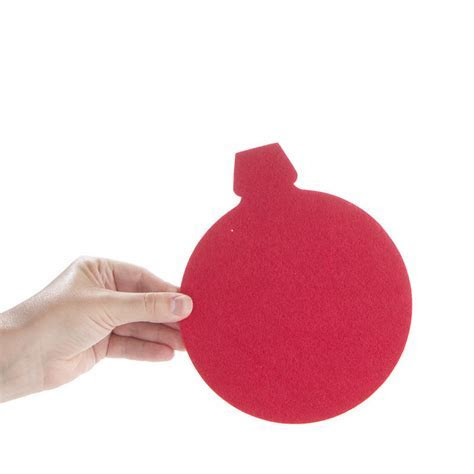 Large Felt Christmas Ornament Cutout   Felt   Basic Craft