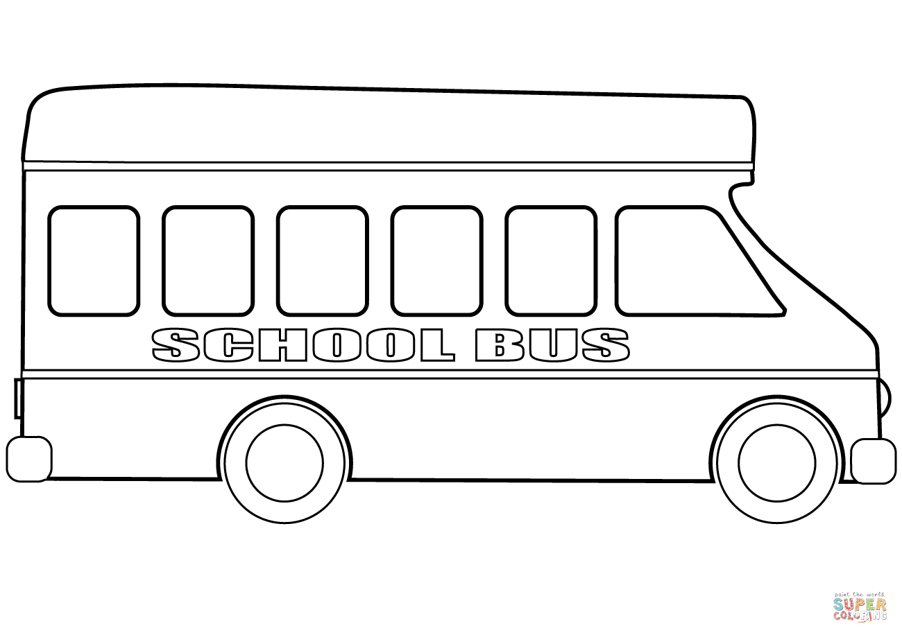 57 Coloring Sheet Of School Bus Images & Pictures In HD