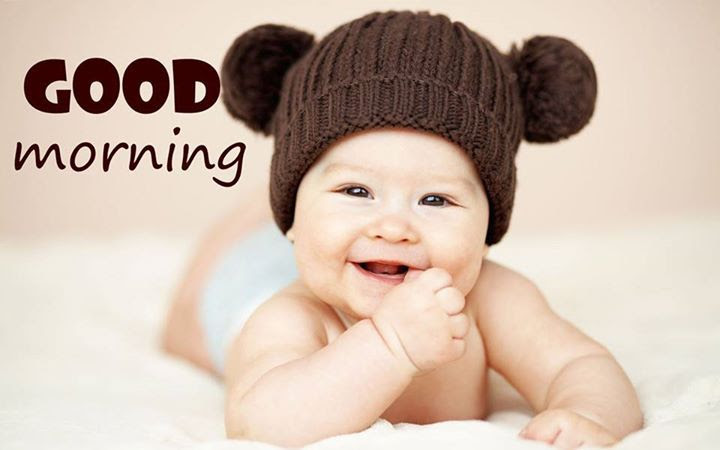 Cute Baby Good Morning Quote Pictures Photos And Images For