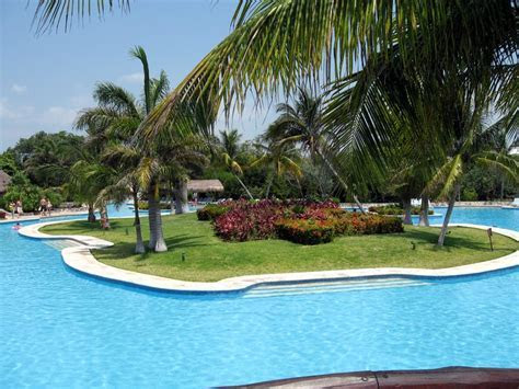 Swimming Pool At Mexico All Inclusive   Iberostar Riviera