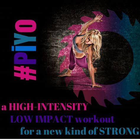 piyo  high intensity  impact workout    kind