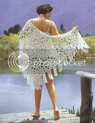 holiday shawl