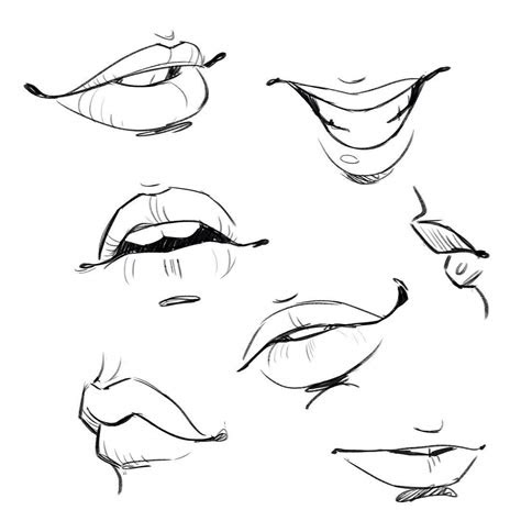 anime mouth drawing  paintingvalleycom explore