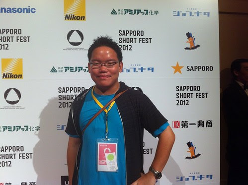 At the Sapporo Film Fest 2012 opening