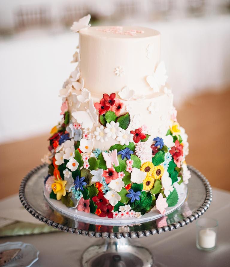4 Summer Wedding Cake Ideas The September Standard
