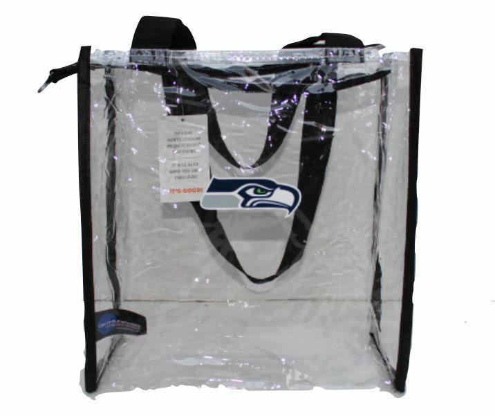 NFL Seattle Seahawks Clear Square Stadium Approved Tote Bag  eBay