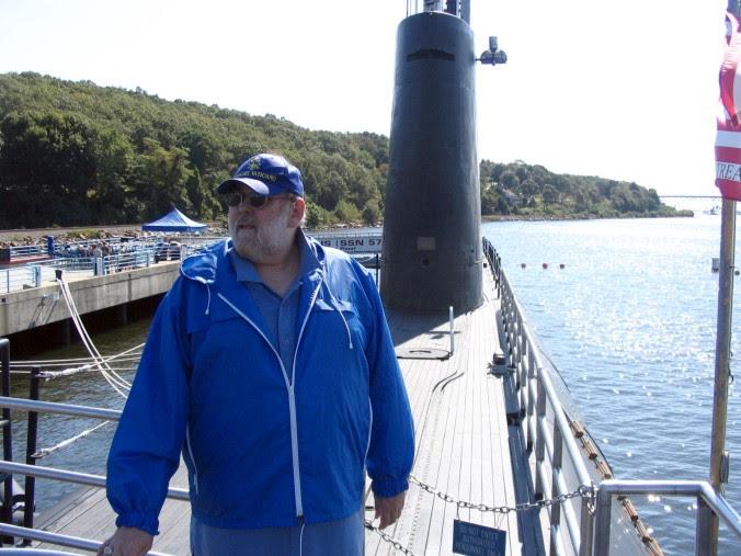 Jim Brochu the Nautilus submarine.