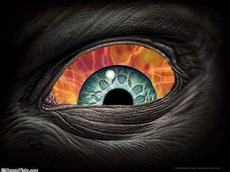 crazy eye demonic eye demonic eye abstract   cg hd