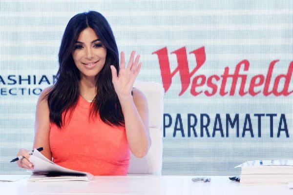 Kim Kardashian Attends The Kardashian Kollection Spring Launch At Westfield Parramatta