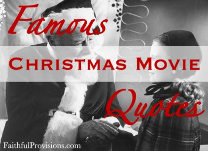 Christmas Movie Quotes And Sayings. QuotesGram