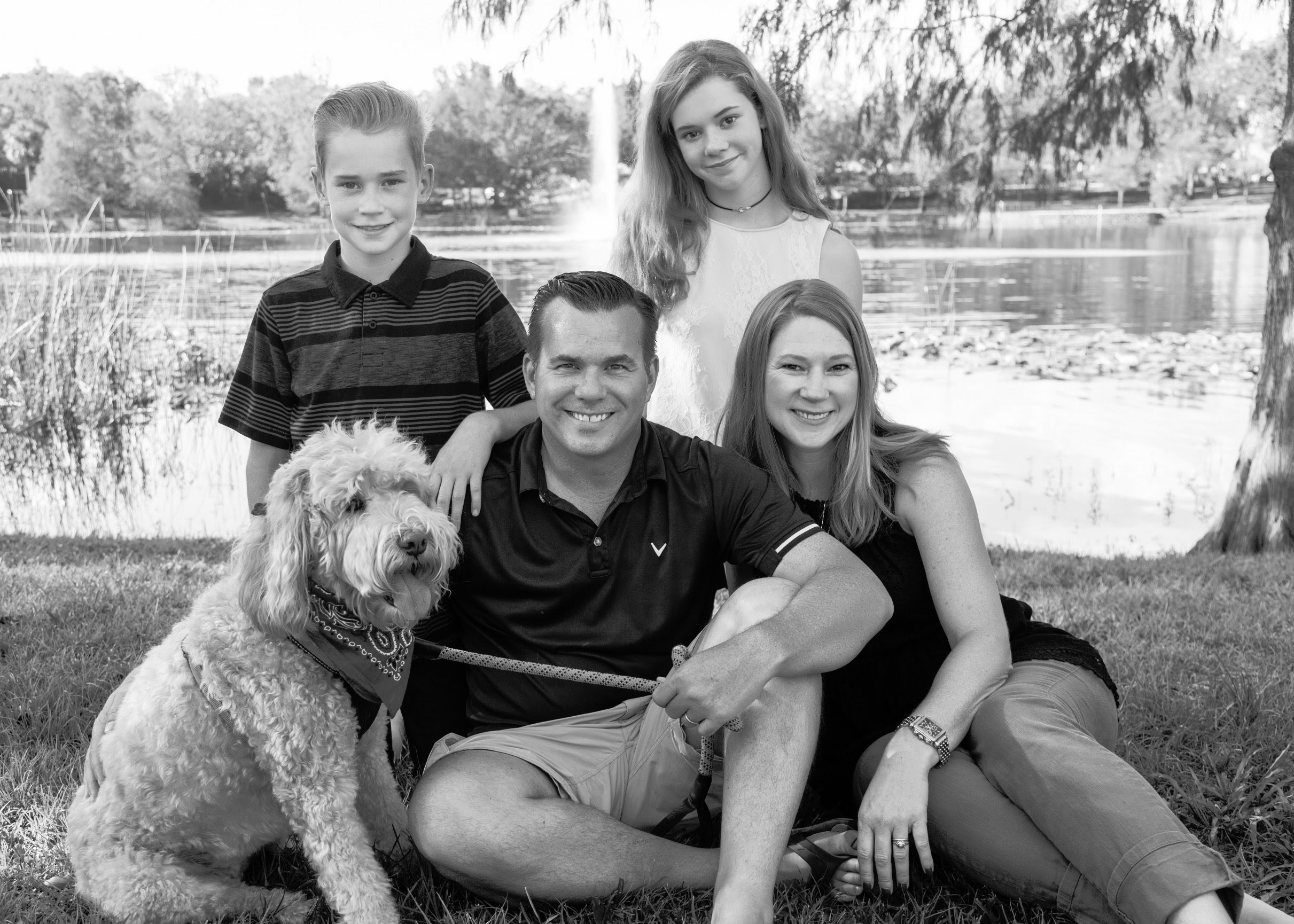 Family Portraits At Lake Lily In Maitland Nancy Faircloth Photography