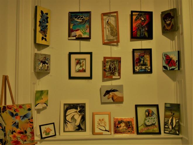 Exposition Peinture Vitrail Les 4 Saisons Par La Fadoq De Saint