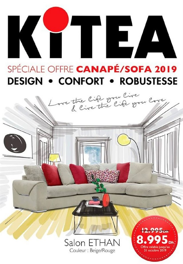 Catalogue KITEA Canapé/Sofa 2019
