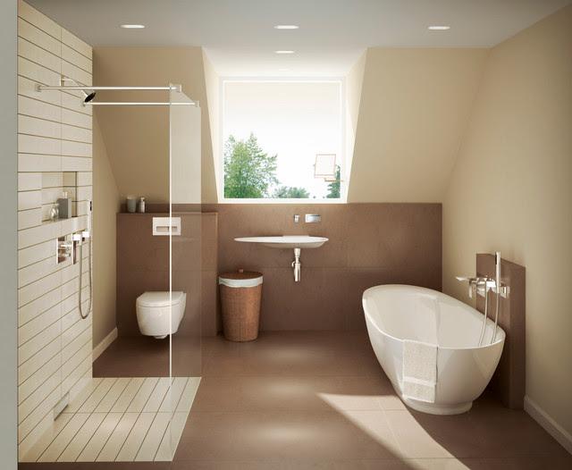 warm geberit master bath  modern  bathroom  other metro