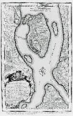 Kartta vuodelta 1742