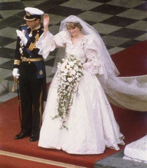 The Original Sketch for Princess Diana's Wedding Dress Was