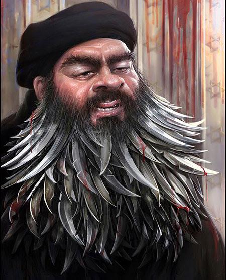 Iran: le concours de caricatures sur «Daech».