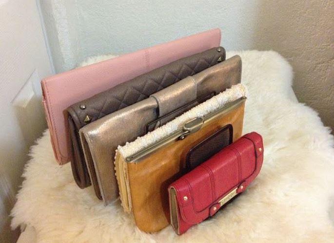 ideas para organizar bolsos de mano