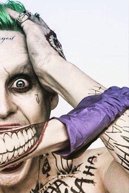 close jared leto joker tattoos
