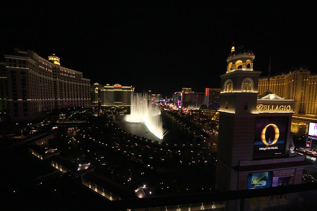 bellagio, night