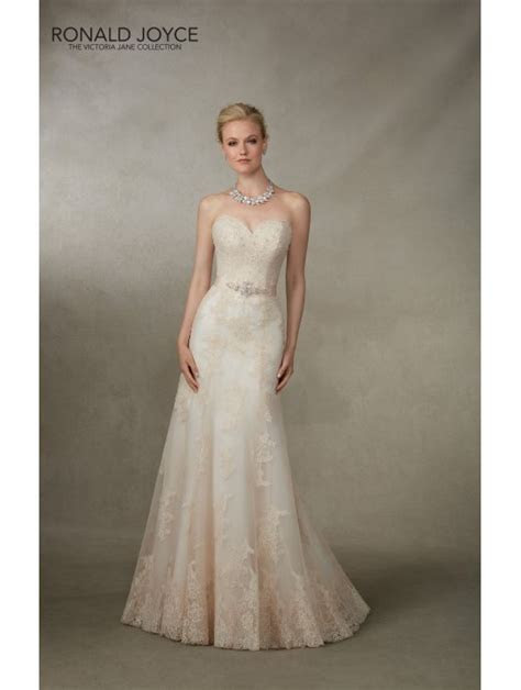 Ronald Joyce 18004 Jamaica Slim Fitting Lace Bridal Gown