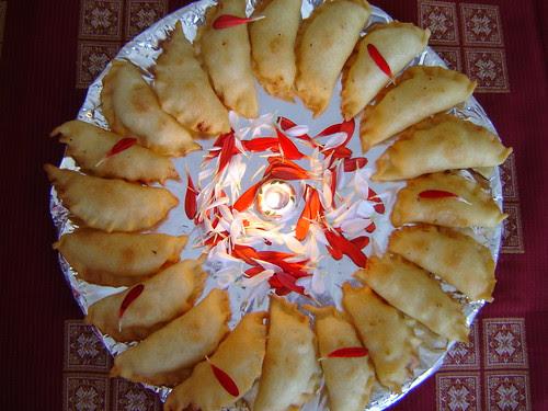 Karanji  (For a Sweet  Diwali)