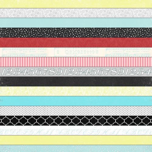 4 bold Christmas stripes 12 and a half inch 350 dpi