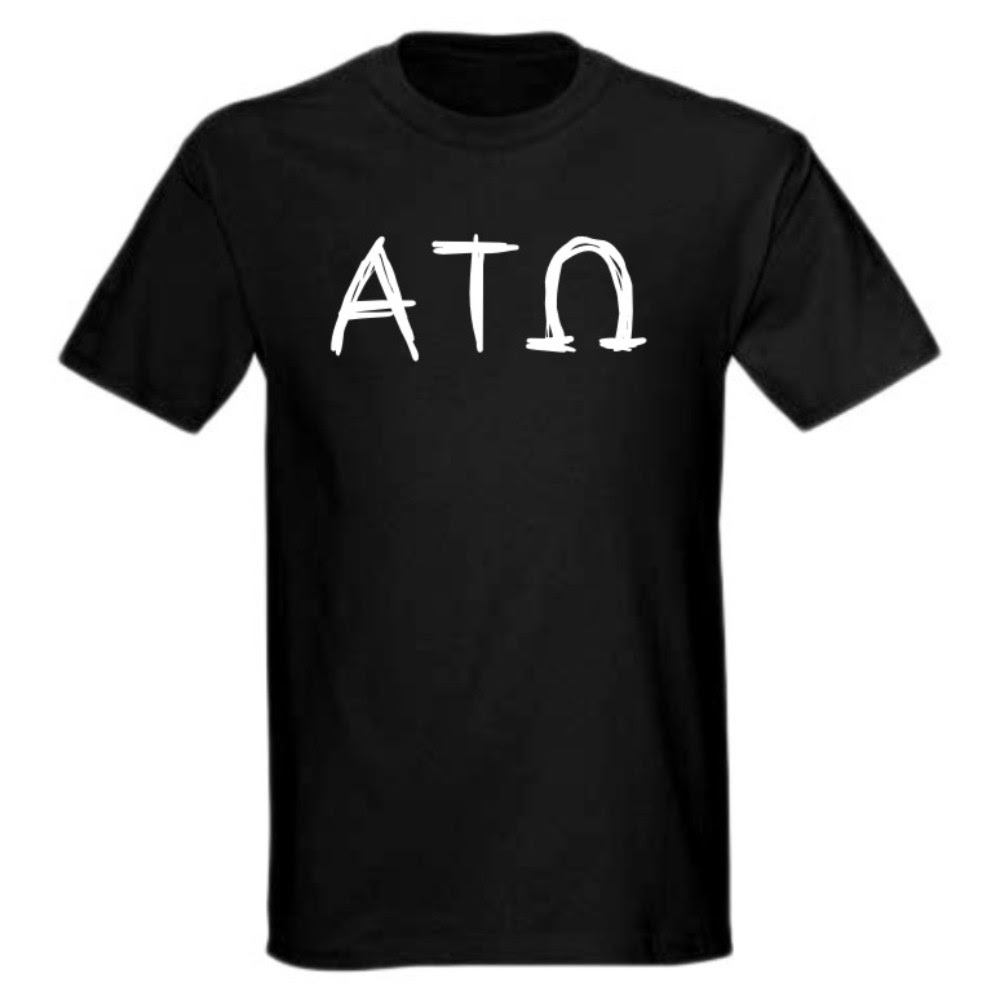 About Alpha Tau Omega Scribble T-Shirt: