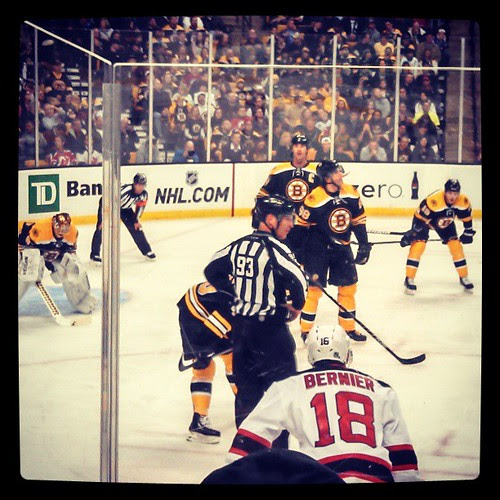 @nhlbruins vs NJ #bruins #letsgobs
