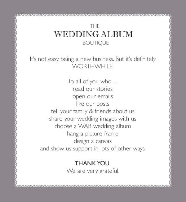 Wedding Album Names