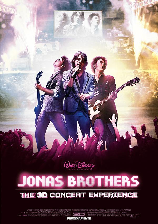 Jonas Brothers en concierto 3D (Bruce Hendricks, 2.009)