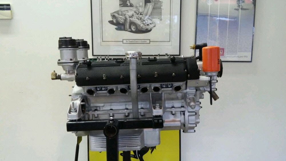 Ferrari 250 V12 Engine For Sale in Forida   Dirty Old Cars