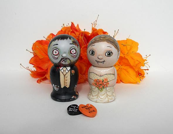 halloween cake toppers creation