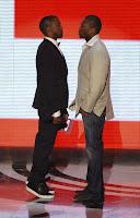 Hopefully Kanye stands taller next week over 50 Cent