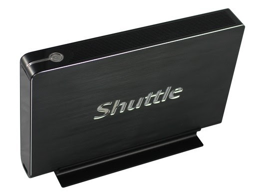 Shuttle's XS35 nettop is 3.3cm thin, too nice to hide behind your HDTV