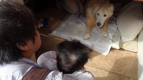Miyu and Bo-chan