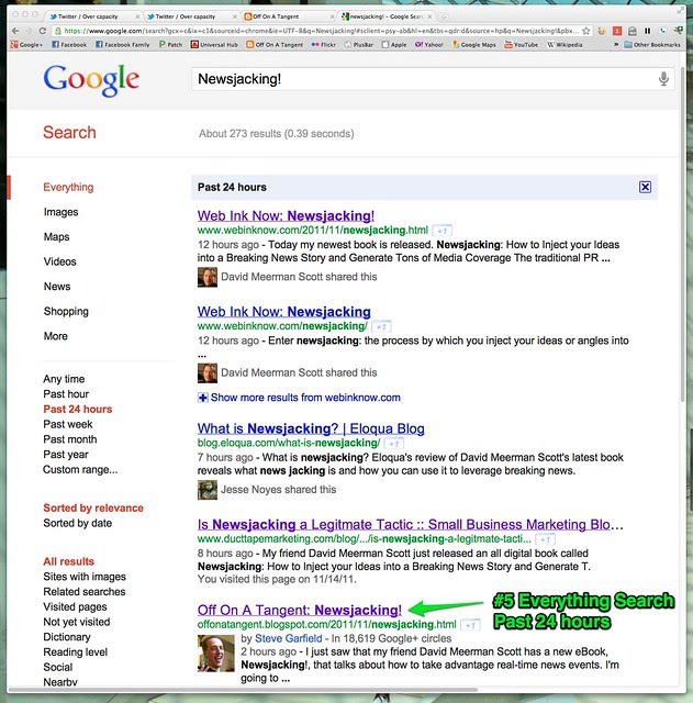 newsjacking! #5 on Google Search Past 24 hours