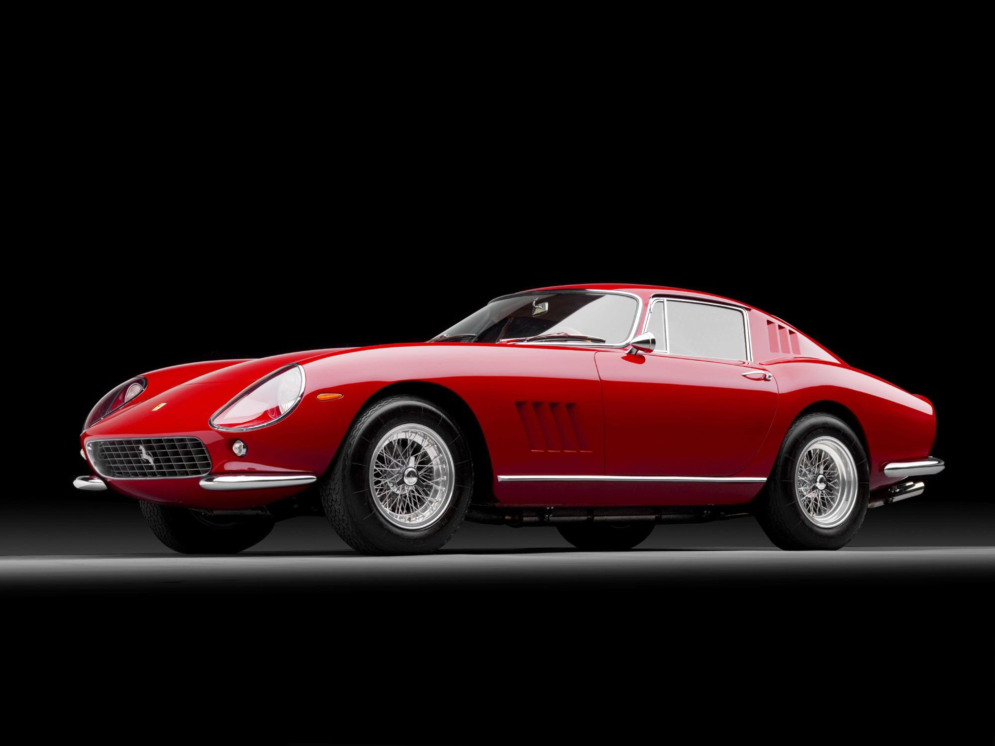 Classic Ferraris For Auction In The USA And The UK  Scoop News