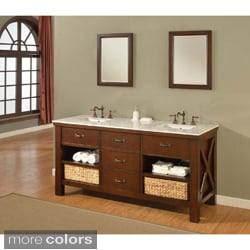 Floor Cabinet, Wicker Furniture   Overstock.com: Buy Bathroom