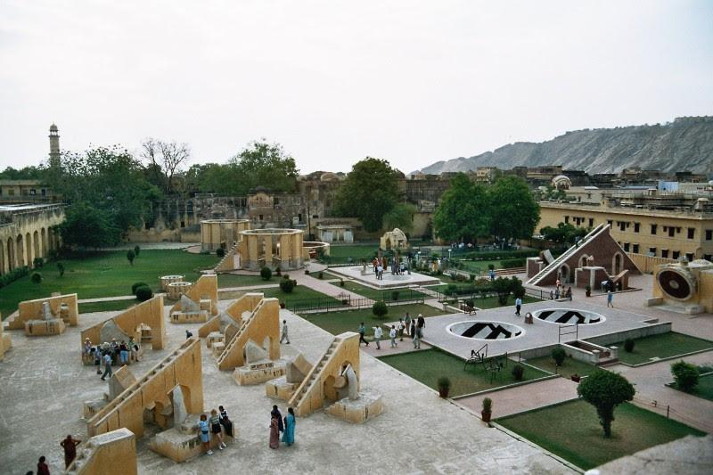 Planetarium Jantar Mantar in Jaipur, Indien