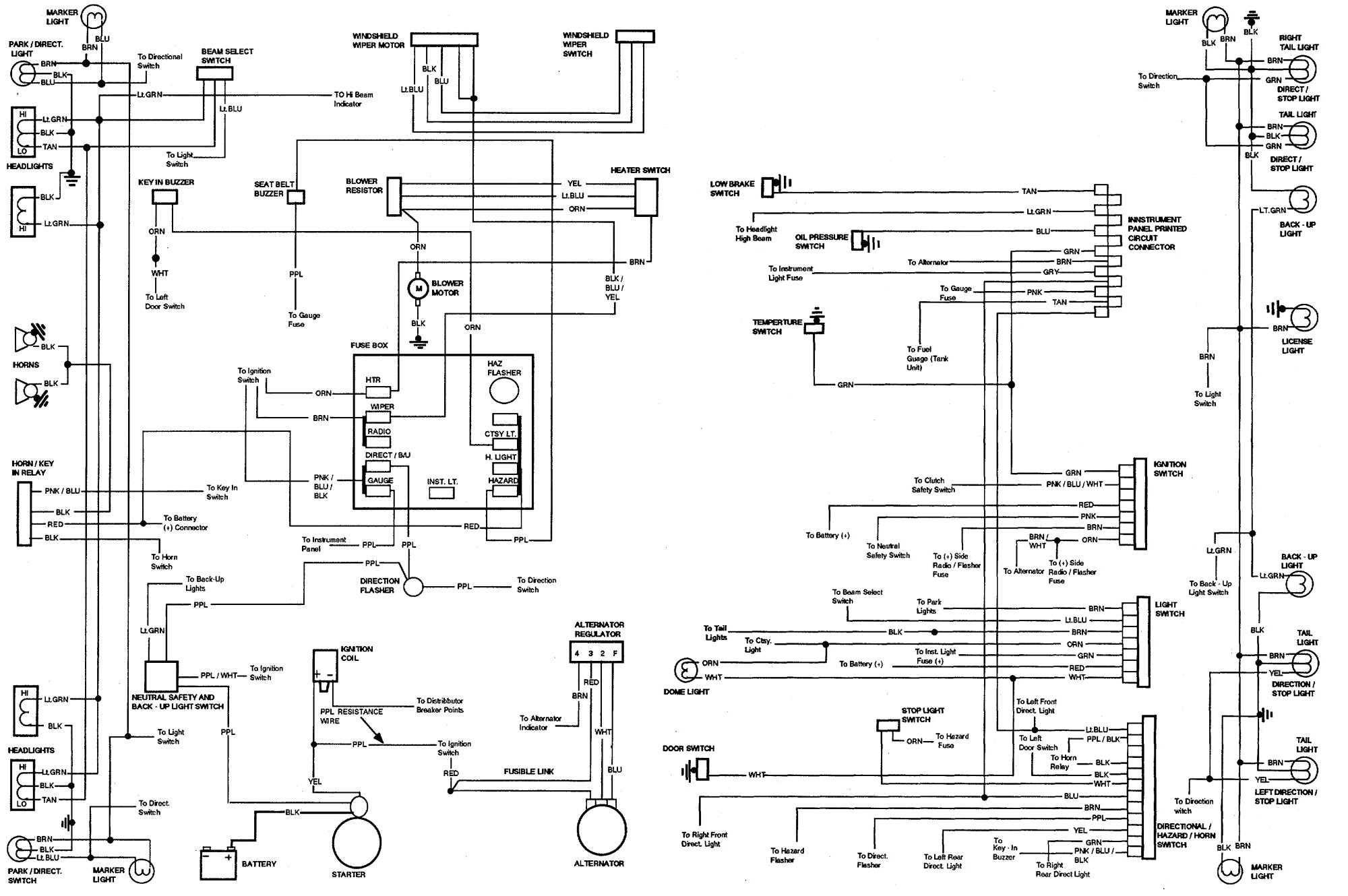 Diagram Fuse Box Diagram For 72 Chevelle Full Version Hd Quality 72 Chevelle Timediagram Pizzagege Fr